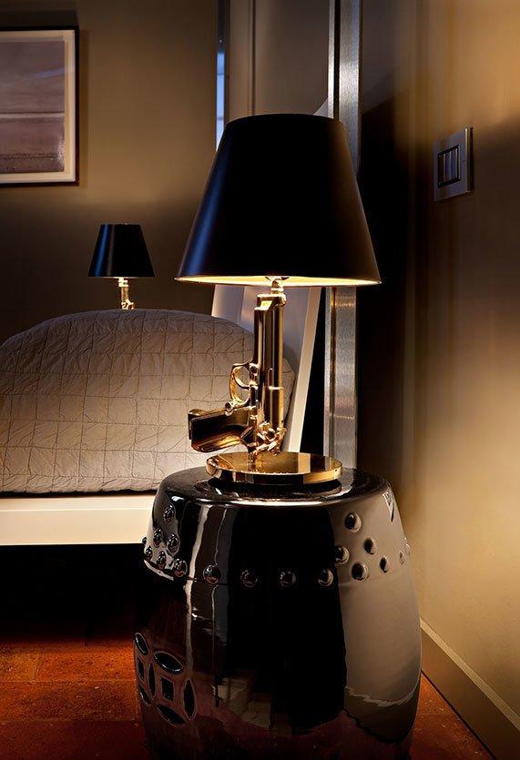 Lampada Bedside Gun